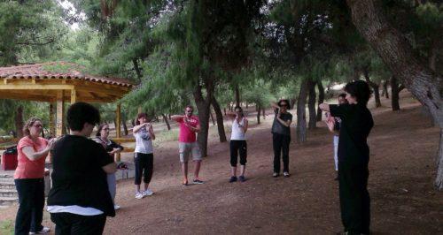 Άσκηση και διασκέδαση στο άλσος Βείκου 1η Ιουνίου