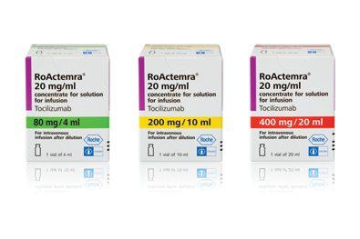 Tocilizumab (Actemra/RoActemra, ROCHE) Τοσιλιζουμάμπη