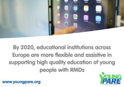Παρουσίαση Στόχων της Ευρωπαϊκής Ομάδας των Νέων Ανθρώπων με Ρευματομυοσκελετικά Νοσήματα της EULAR