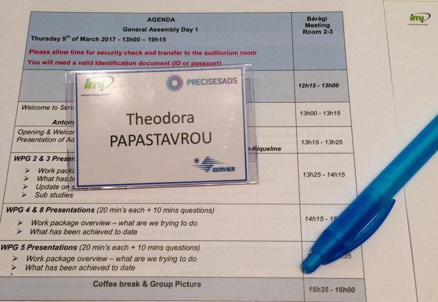 3η γενική συνέλευση του πανευρωπαϊκού πρότζεκτ PRECISESADS
