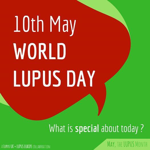 10 Μαΐου: Παγκόσμια Ημέρα κατά του Συστηματικού Ερυθηματώδη Λύκου (Σ.Ε.Λ.) ή Λύκου