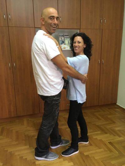 Μαθήματα χορού λάτιν με τον κο Λαπιδάκη
