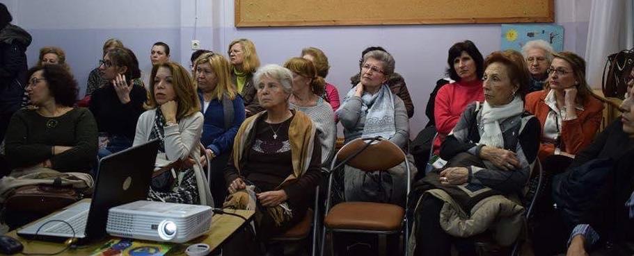Ολοκληρώθηκε η ενημερωτική ομιλία της ΕΛ.Ε.ΑΝ.Α. Θεσσαλονίκης στην Χ.Ε.Ν.